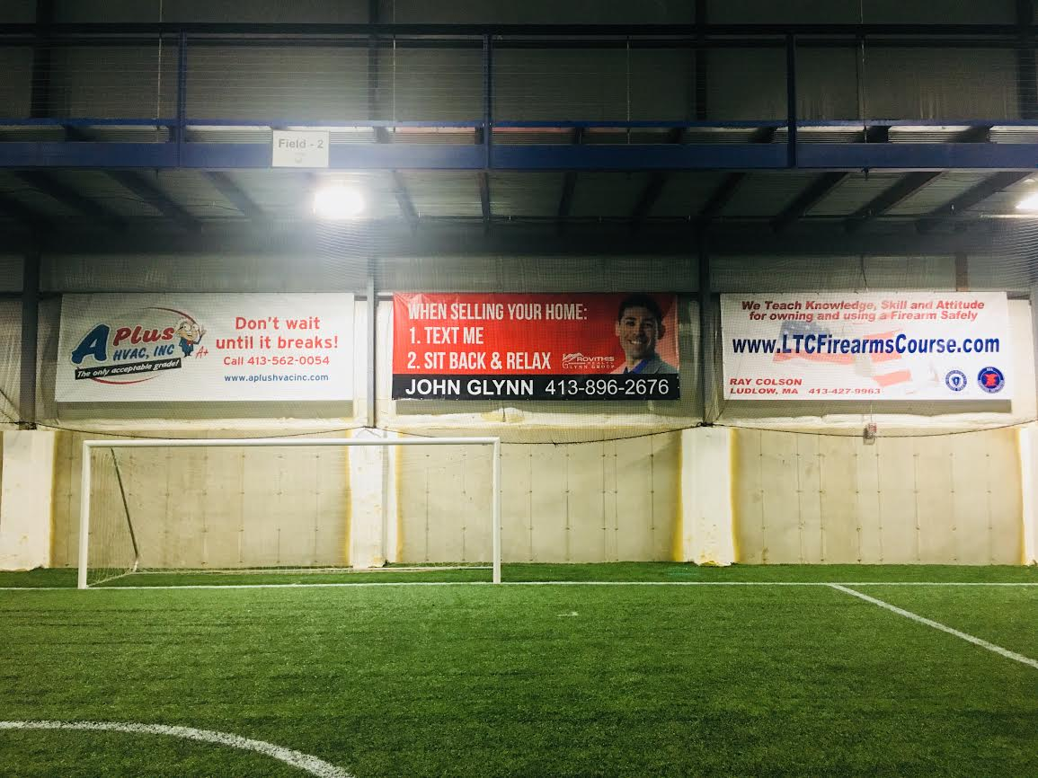 Roots Athletic Center Banner Advertising Sponsor