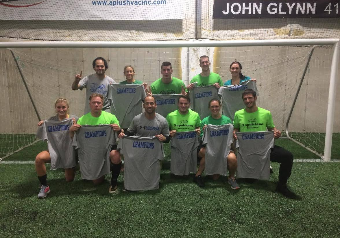 Roots Athletic Center Adult Coed Soccer Champions