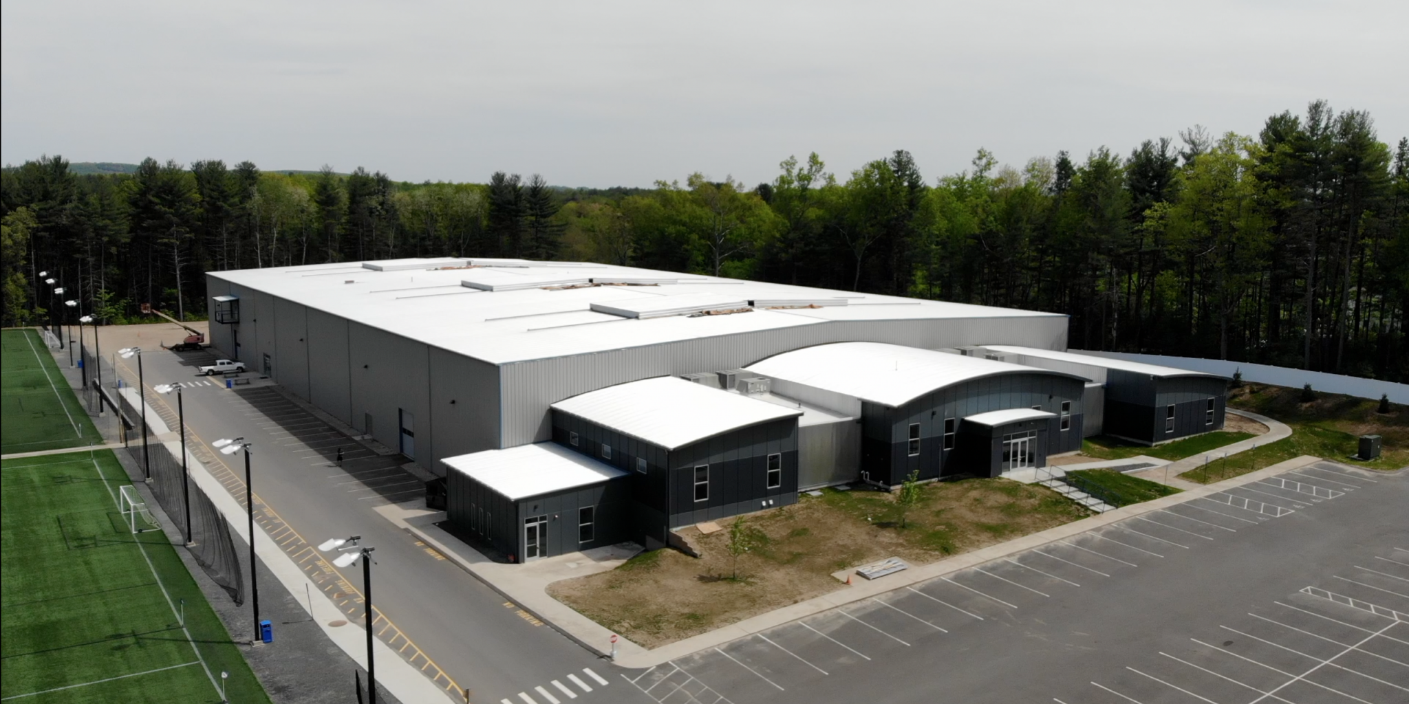 Roots Athletic Center Outside Aerial View of Facility